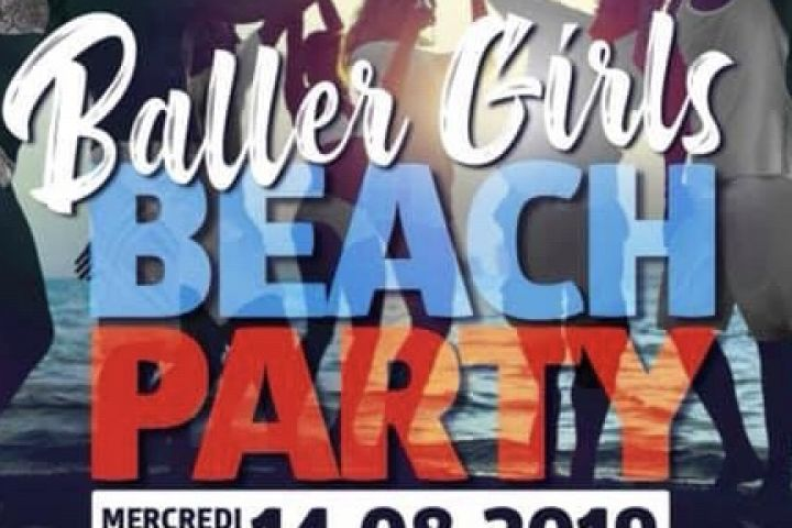Baler Girls Beach Party 18h30